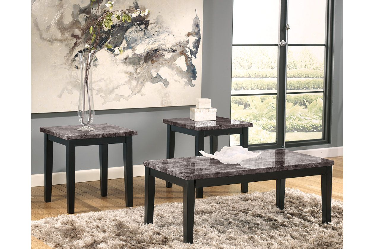 Maysville Table Set Of 3 Black Products 3 Piece Coffee
