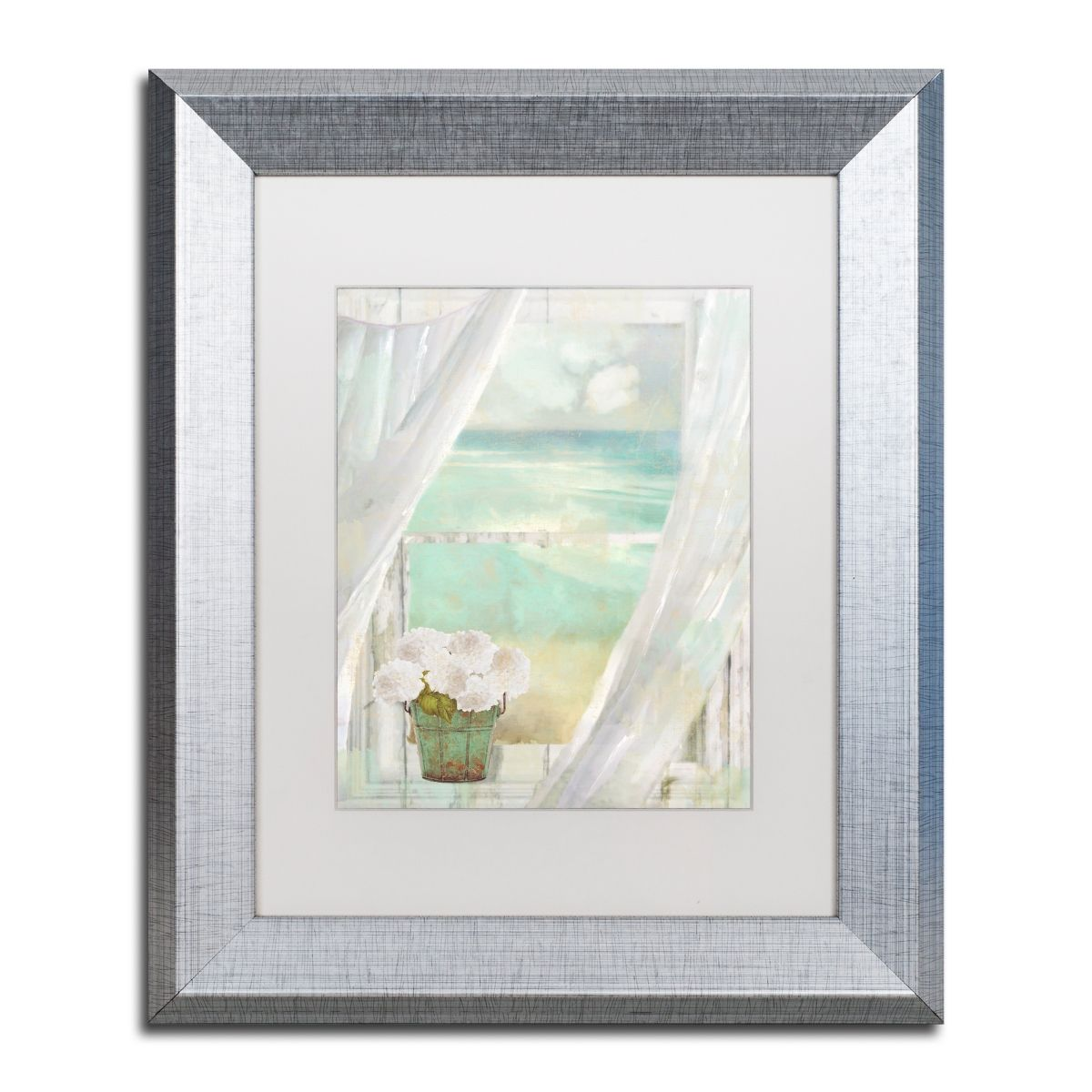 Color Bakery Summer Me Ii Matted Framed Art 11 X 14 Silver Framed Art Art Painting Frames