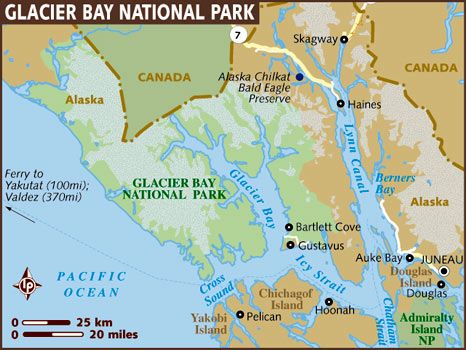 Pelican Bay Alaska Map.Princess Cruise Line Goes Into Glacier Bay For Scenic Cruising While