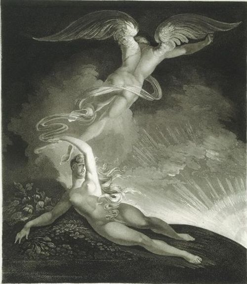 The Dream of Eve – Henry Fuseli