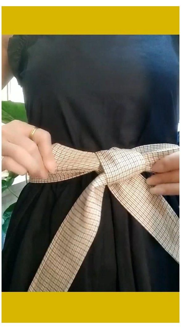 diy belt for dresses how to make