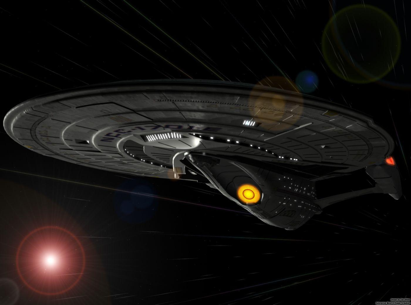 Uss enterprise ncc 1701 d galaxy class saucer separation r flickr - Uss Enterprise Ncc 1701 E