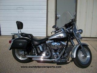 2003 Harley Davidson Fatboy Anniversary Edition