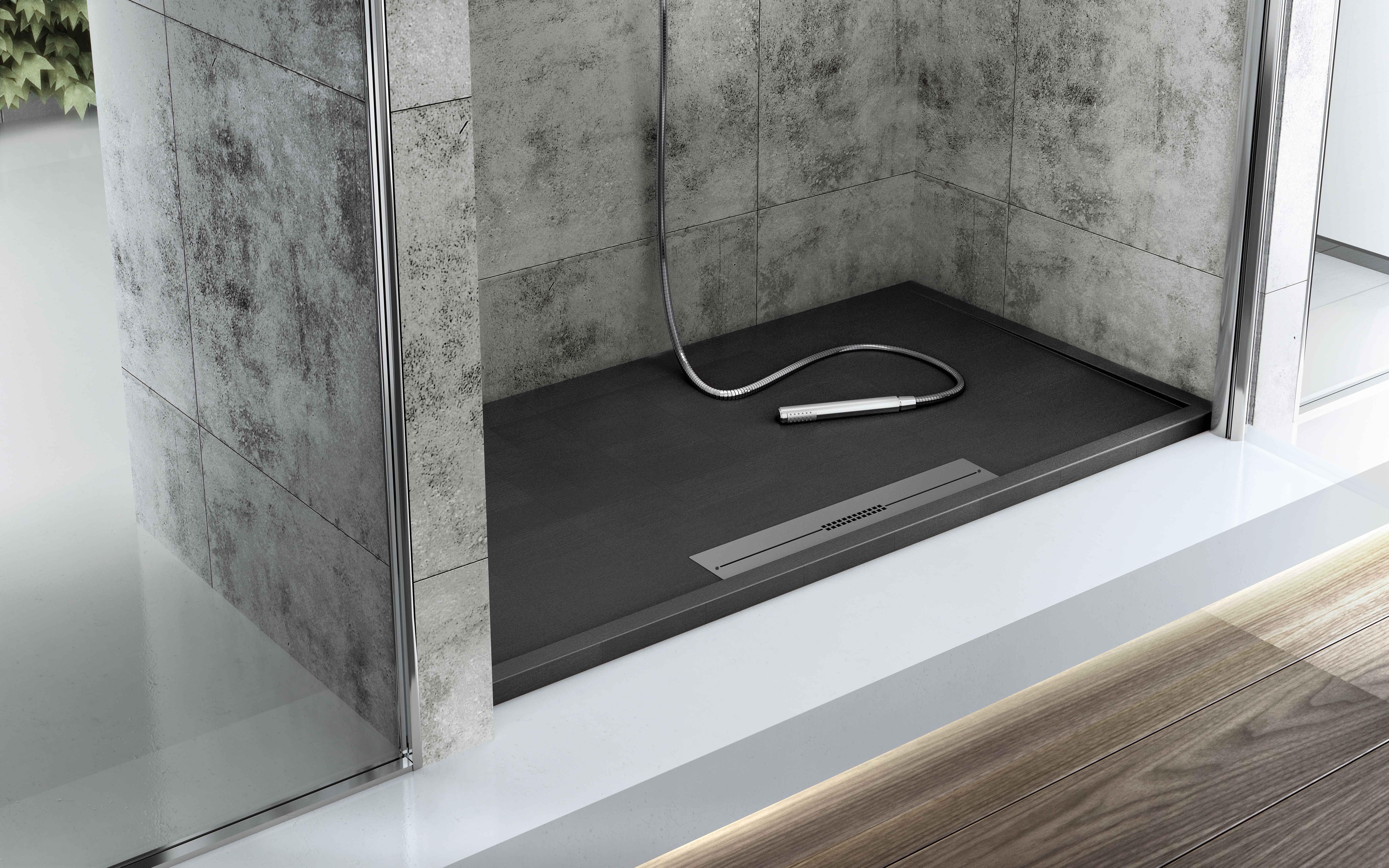 Black shower! Fiora Touch Your Bathroom | baño | Pinterest | Duchas ...