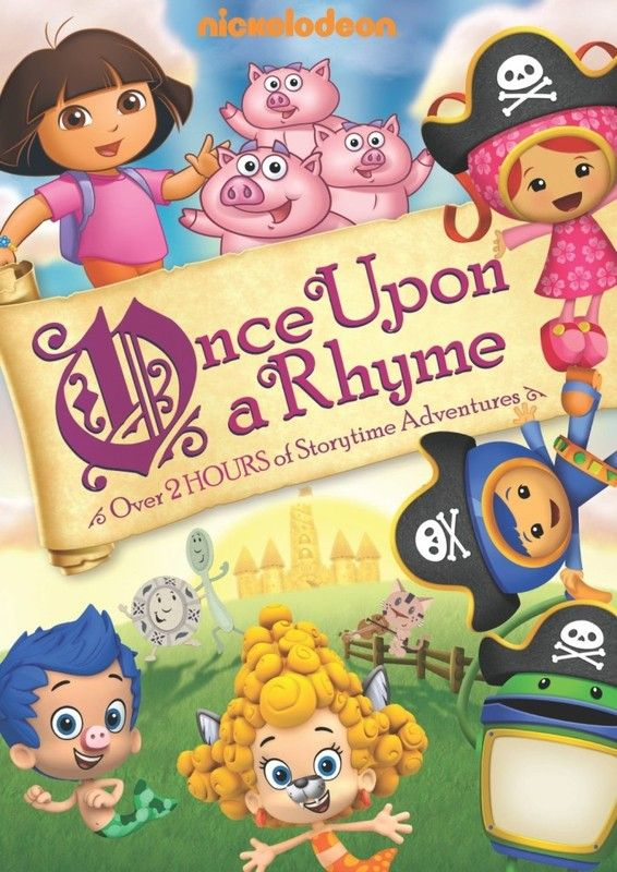 Nickelodeon Favorites Once Upon A Rhyme On Dvd Now Sponsored Nickelodeon Dora The Explorer Rhymes