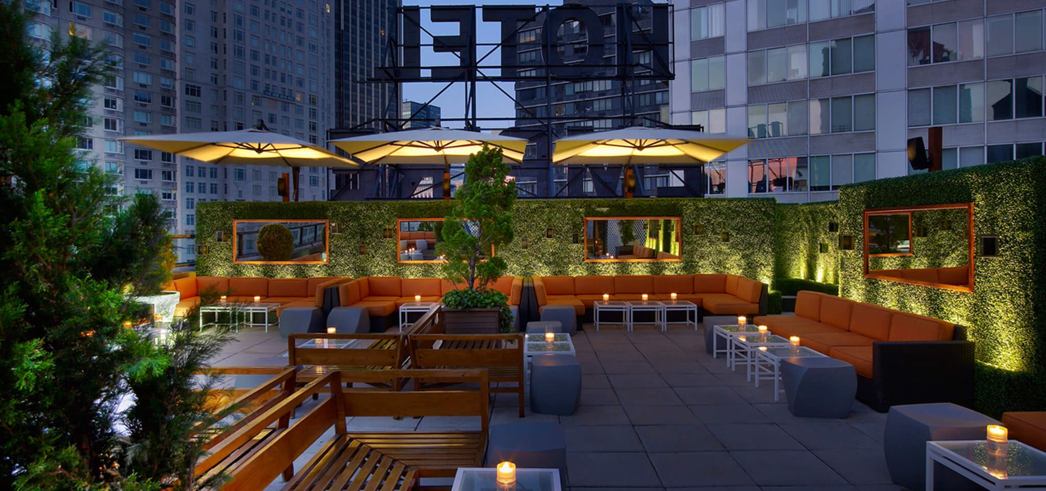 Image result for empire rooftop