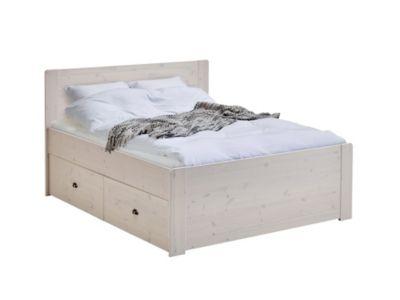 Lit X Cm NOLA Blanc Chambres Pinterest - Lit 160x200 pas cher