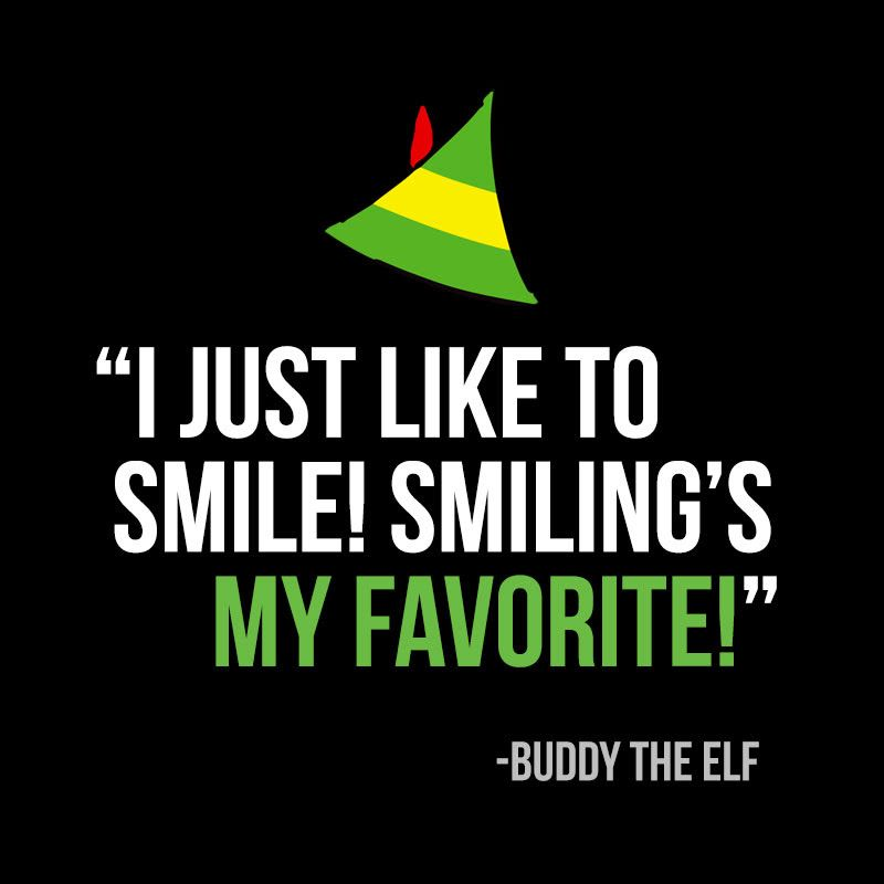 Elf Quotes Smiling: Facebook Post Idea From My Social Practice