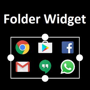 Folder Widget - https://www.android-logiciels.fr/folder-widget/