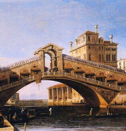 Canaletto Rialzo Bridge details