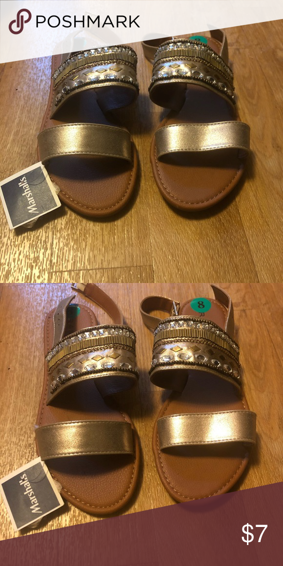 8da88bc0b1306 CUTE GLADIATOR SANDALS. NEVER WORN. Cute and vintage embezzled sandals.  Great for warm weather with any outfit. Marshalls Shoes Sandals