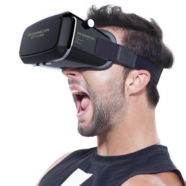 دیجیک | هدست دنیای واقعیت مجازی VR SHINECON | عینک سه بعدی موبایل