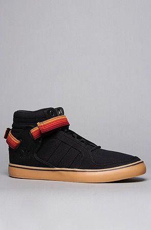info for 7c5e6 ae278 adidas The AdiRise Mid Canvas Sneaker in Black White   Karmaloop.com -  Global Concrete Culture