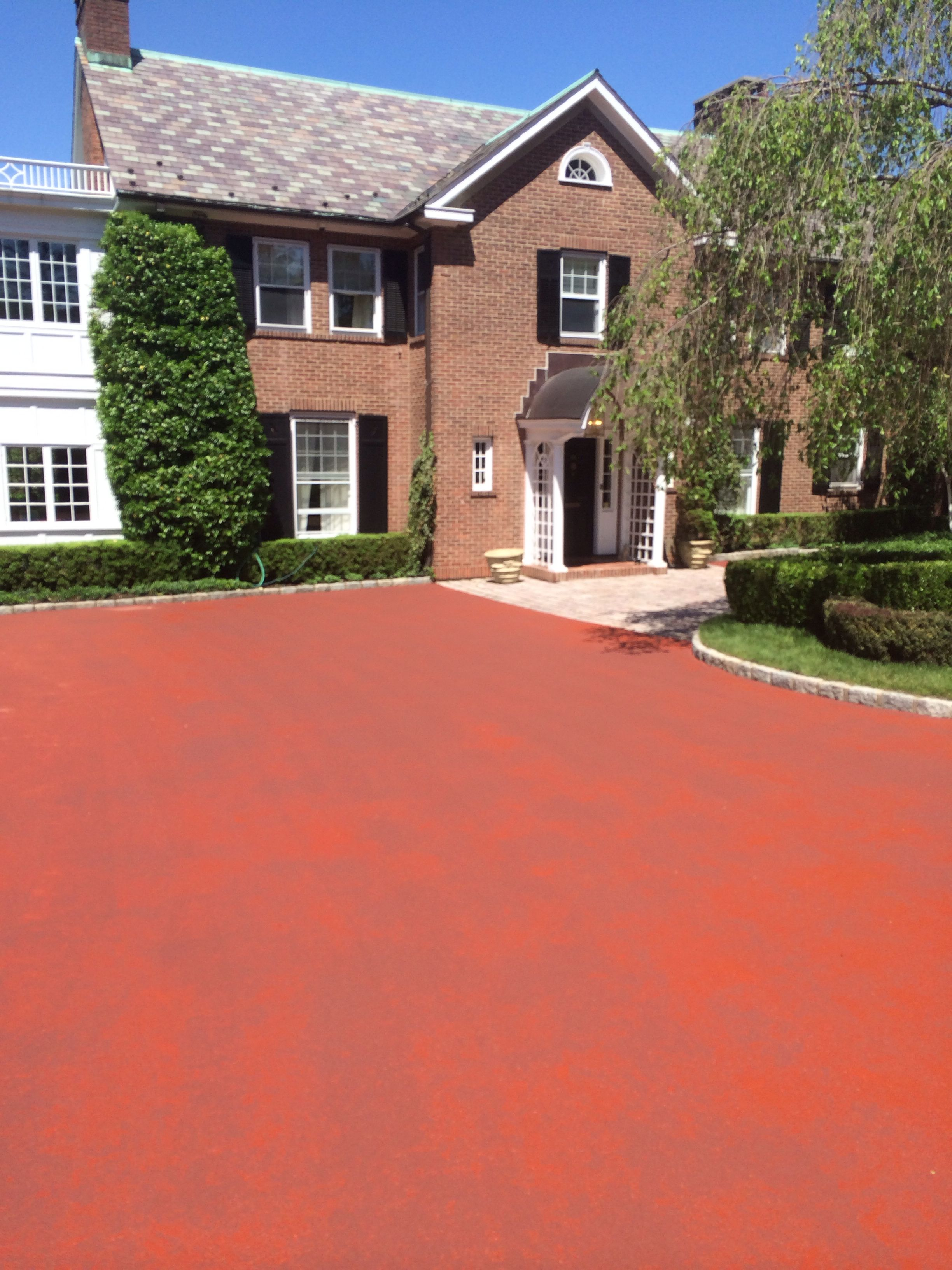 1st Coat Color Grade Red Rye Ny House Styles Mansions Courtyard