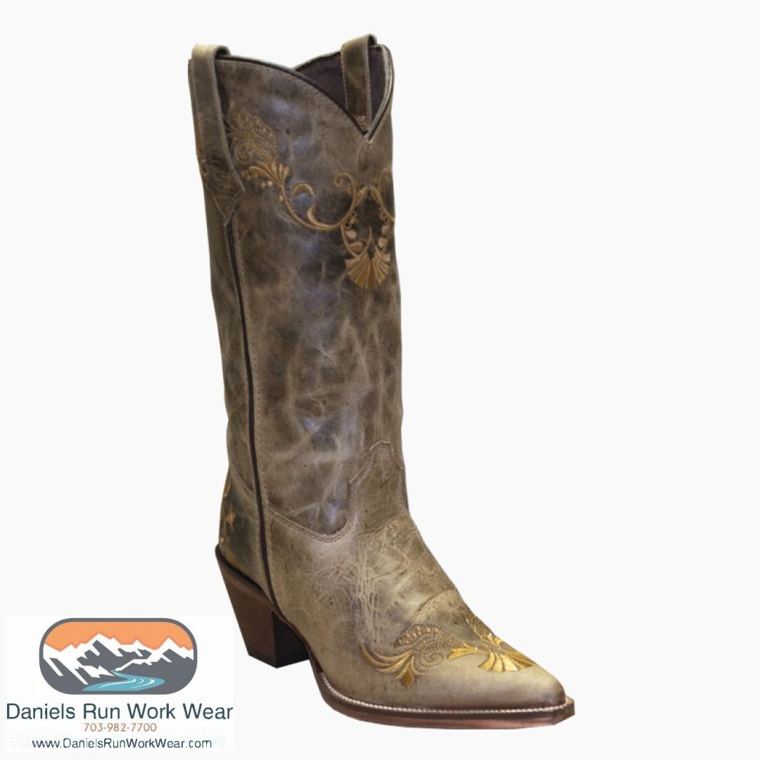 286f1c31cf5 Rawhide by Abilene Women's Boots Embroidered Western Boots - Pointed ...