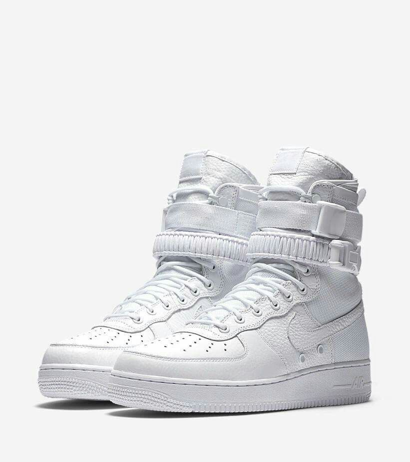 Nike Special Field Air Force 1 'Triple White' Releasing at More Retailers
