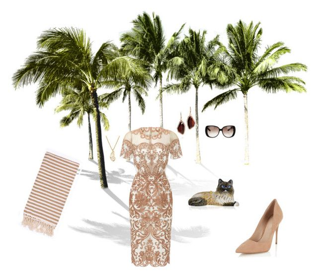 """""""Palm tree"""" by laurasunshine on Polyvore featuring Notte by Marchesa, Chloe + Isabel, Judith Leiber, Gucci, Lipsy, Turkish-T and Lucky Brand"""