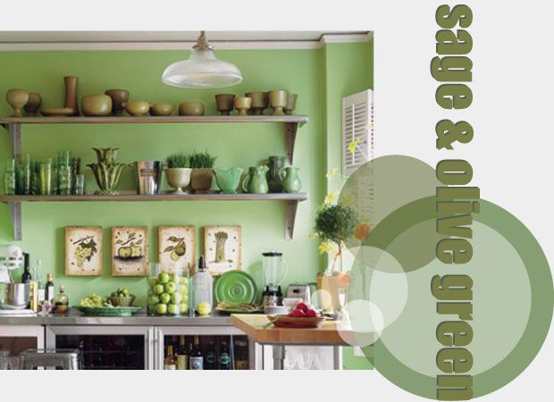 Sage And Olive Green Kitchen Accessories