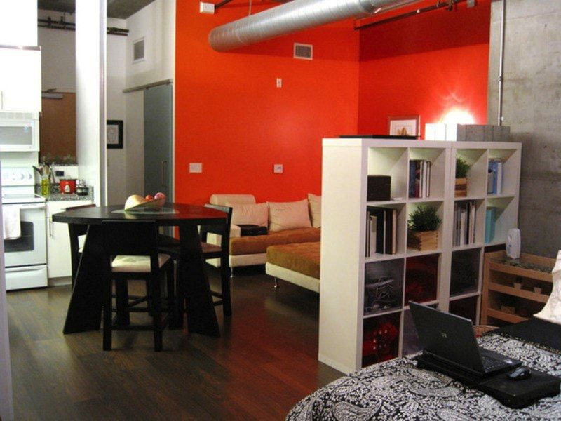 Compact modern apartment with effective use of