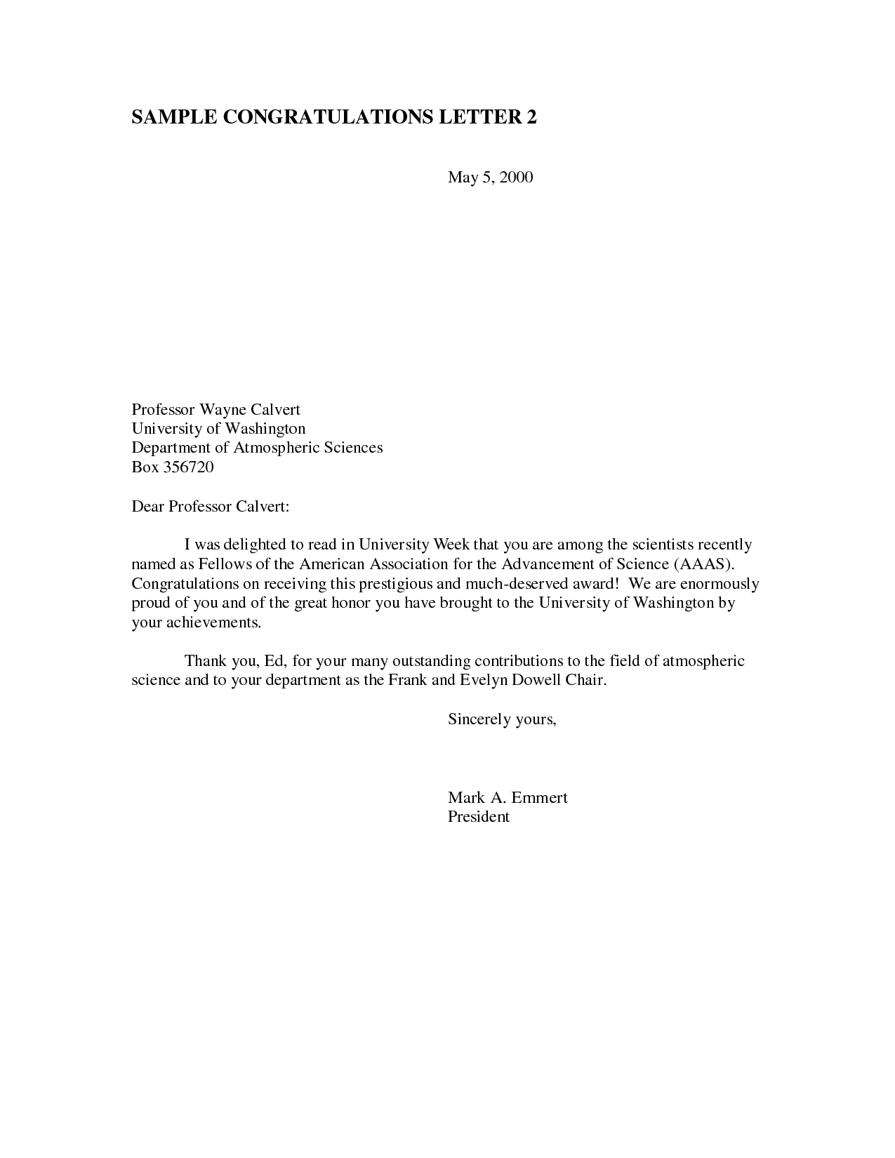 Award Congratulations Letter   Sample Congratulations Letter For Winning An  Award.  Congratulations Award Template