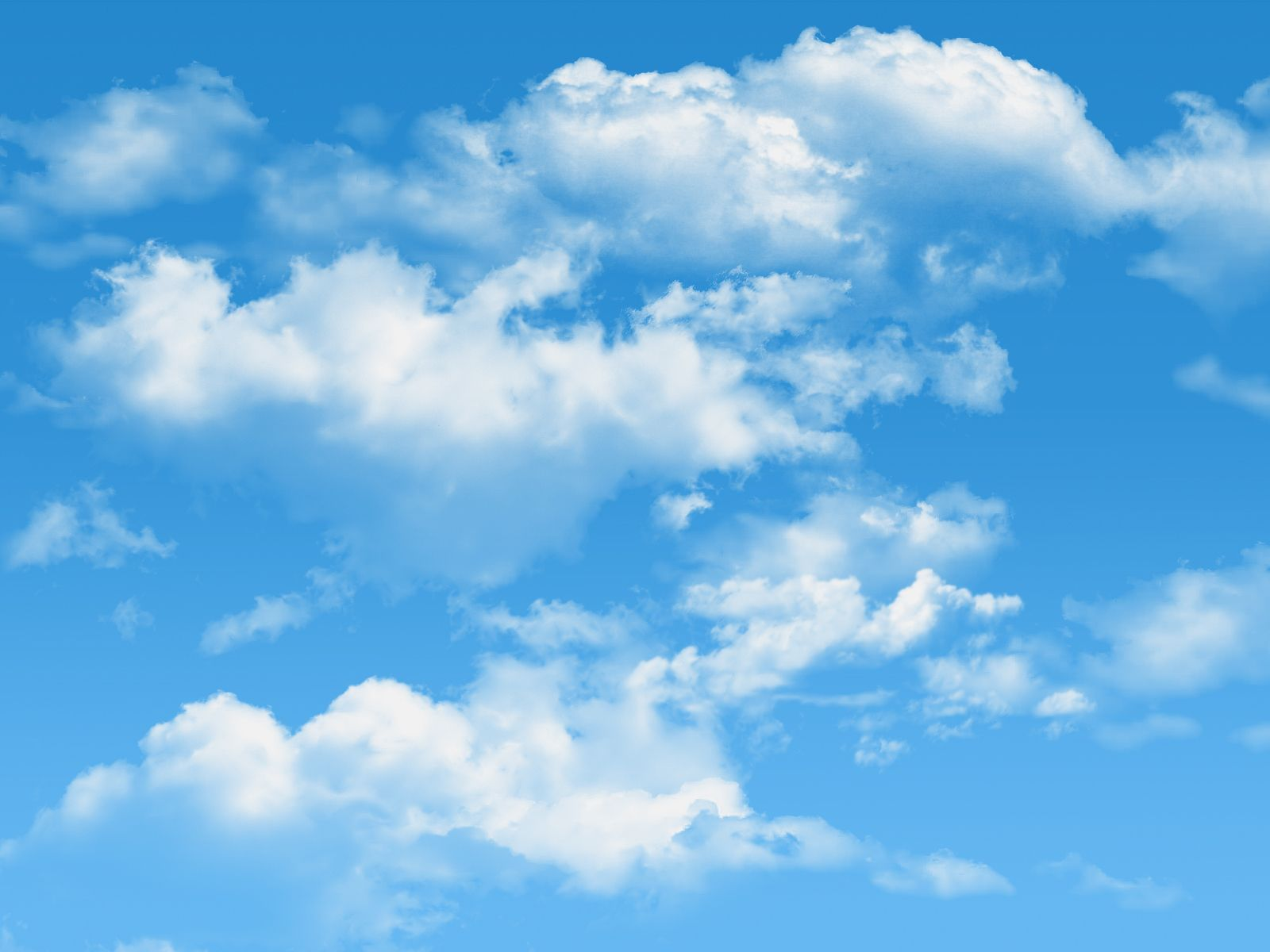 I See Skies Of Blue And Clouds Of White