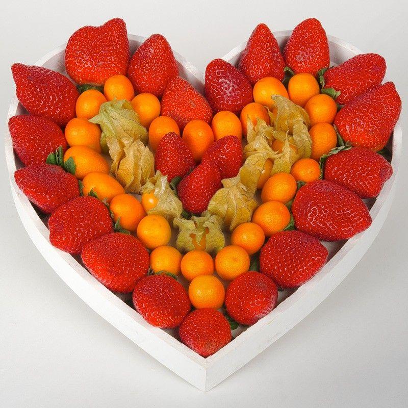 Cesta Cupido Cestas De Frutas De Regalo Frutas Y Verduras Arreglos Frutales