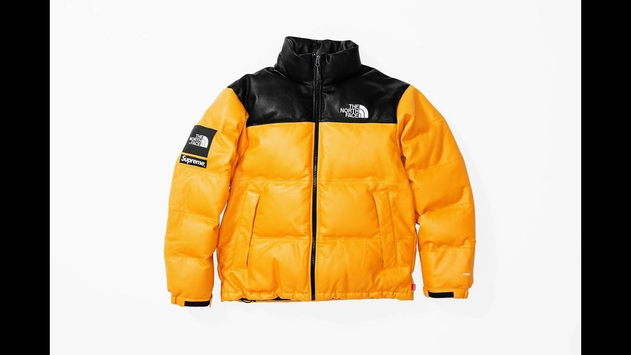 c53a6988b8 Supreme Supreme  The North Face Nuptse Jacket ( 368) ❤ liked on Polyvore  featuring outerwear