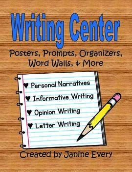 Writing Center Narrative Informative Opinion Letter Writing Center Writing Organization Informational Writing