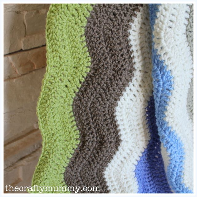 Help with a Ripple Crochet Blanket