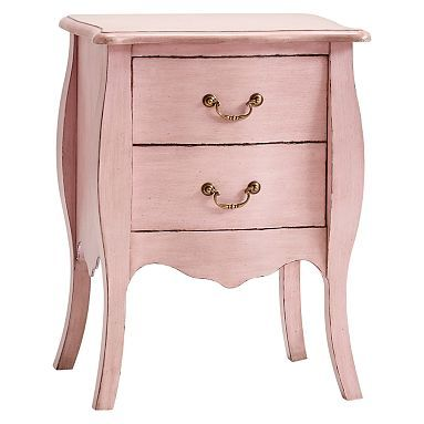 Sadie Nightstand With Images Pink Bedside Tables Bedside
