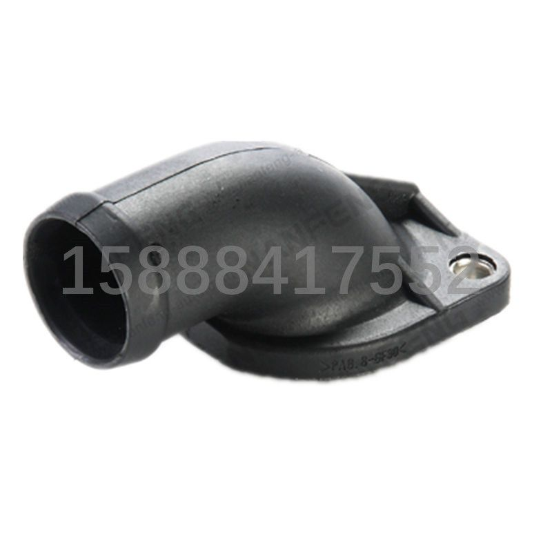 100pcs Auto Cooling System Thermostat Housing Thermostat Cover Thermostat Coolant Water Outlet 055121121f 055 121 121f Thermostat Cover Cooling System Auto