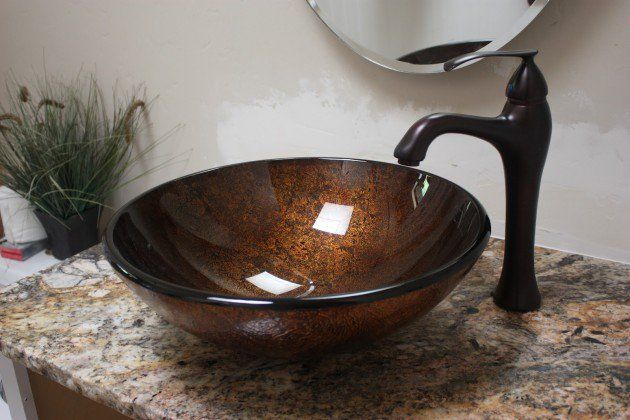 15 Inspirational Bowl Bathroom Sink Designs Bathroom Sink Bowls Sink Design Bathroom Sink Design