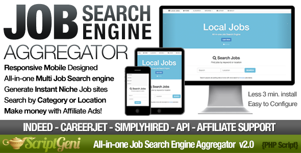 Instant Job Search Engine Aggregator | Code Snippets | Job