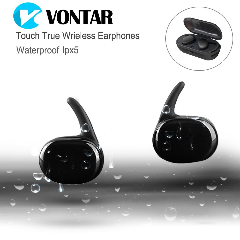 Click To Buy << Vontar Touch Control Mini Twins Earbuds Tws Earphone  Waterproof >>