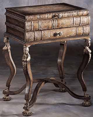 Book End Table. (Stelnat Blog)