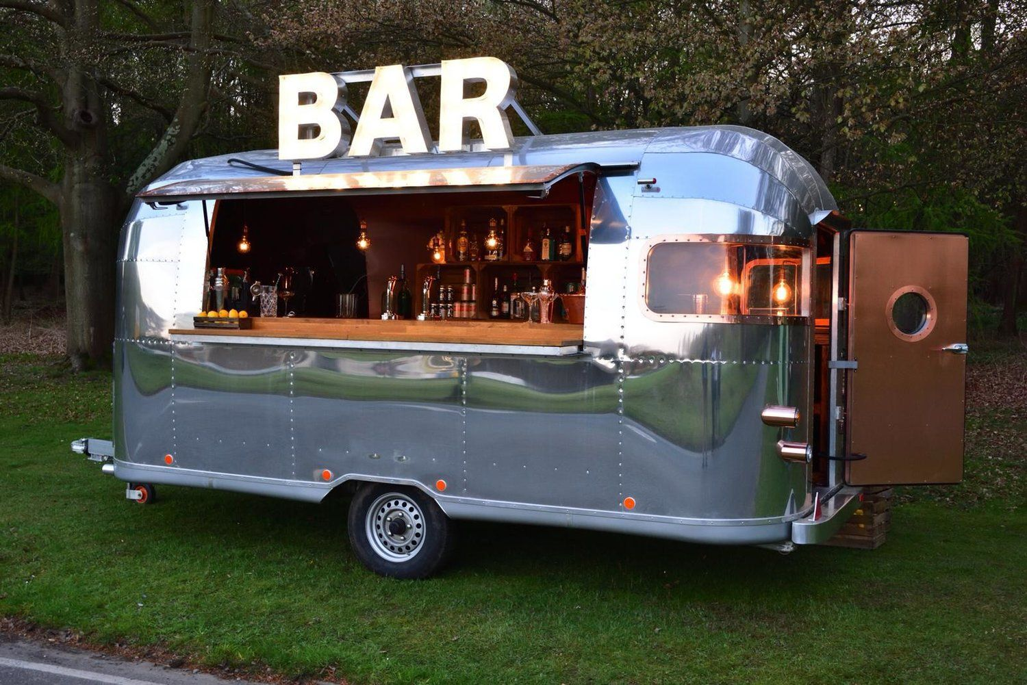 Airstream Bar — Quirky Group in 2020 Bar hire, Mobile