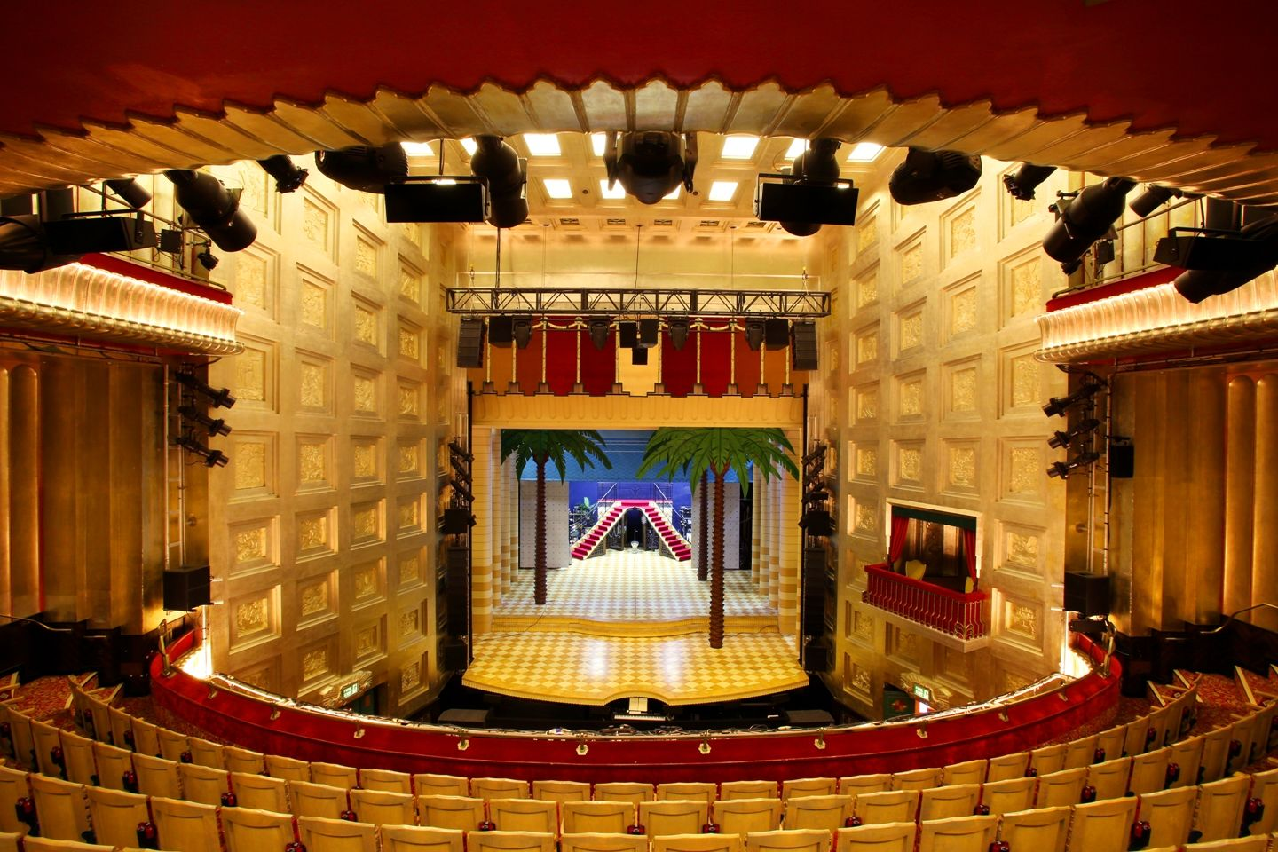 Savoy Theatre London Stage View Inside Theatres