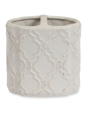 Creative Bath  Chain Link By Jennifer Adams Toothbrush Holder - Beige - One Size