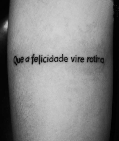 Mais Tatuagem Tumblr Tatuagens Tatuagem Frases Para