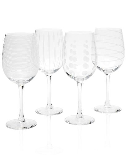 307e91117b9 Mikasa Glassware, Set of 4 Cheers White Wine Glasses from Macy's on ...