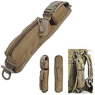 Amazon.com   LIVIQILY Two Colors Tactical Molle Accessory Pouch Backpack  Shoulder Strap Bag Hunting Tools Pouch (Tan)   Sports   Outdoors 406053a0bdd7f