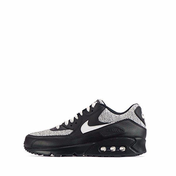 a8bc5db598c Amazon.com | NIKE Mens Air Max 90 Essential Running Shoes  Anthracite/White/Black 537384-089 Size 8 | Running