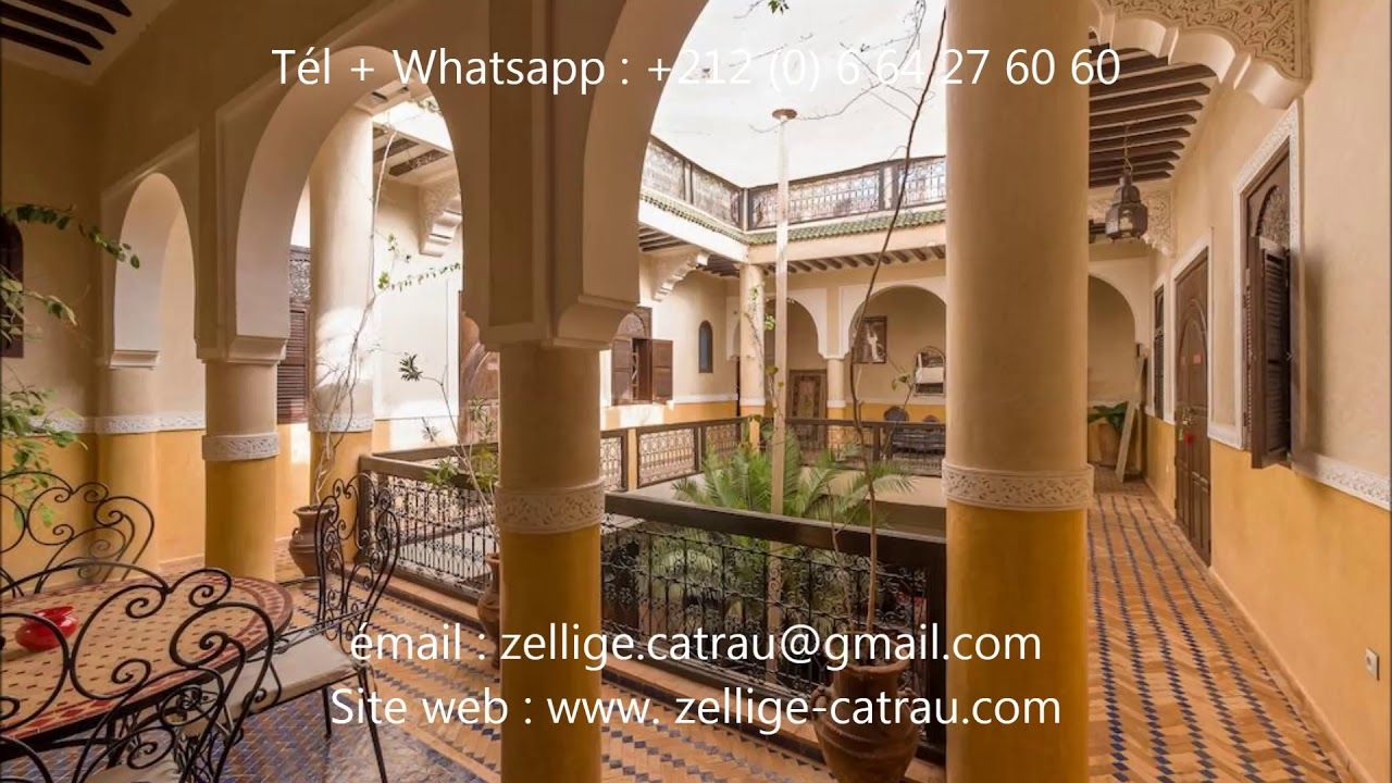 Les Carreaux En Terre Cuite Zelij Marocaine 2019 Terre Cuite Marocaine Cuite