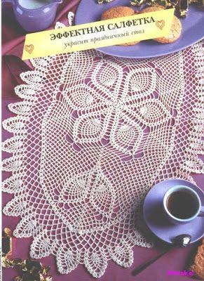 MIRIA crochets et peintures: TAPIS ET CENTRES DE CROCHET AVEC ovale