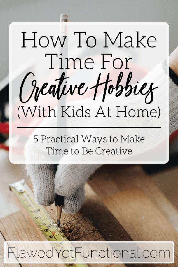 Photo of Wie man sich Zeit für kreative Hobbys nimmt, auch mit kleinen Kindern zu Hause