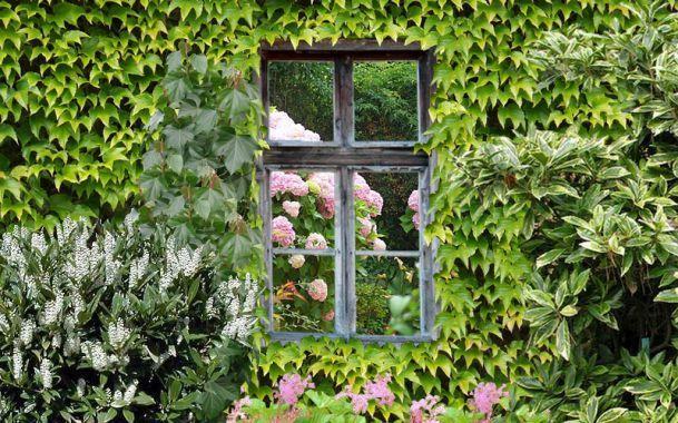 Installer des miroirs au jardin d co ext rieur architecture miroir jardin jardins et - Miroir exterieur jardin ...