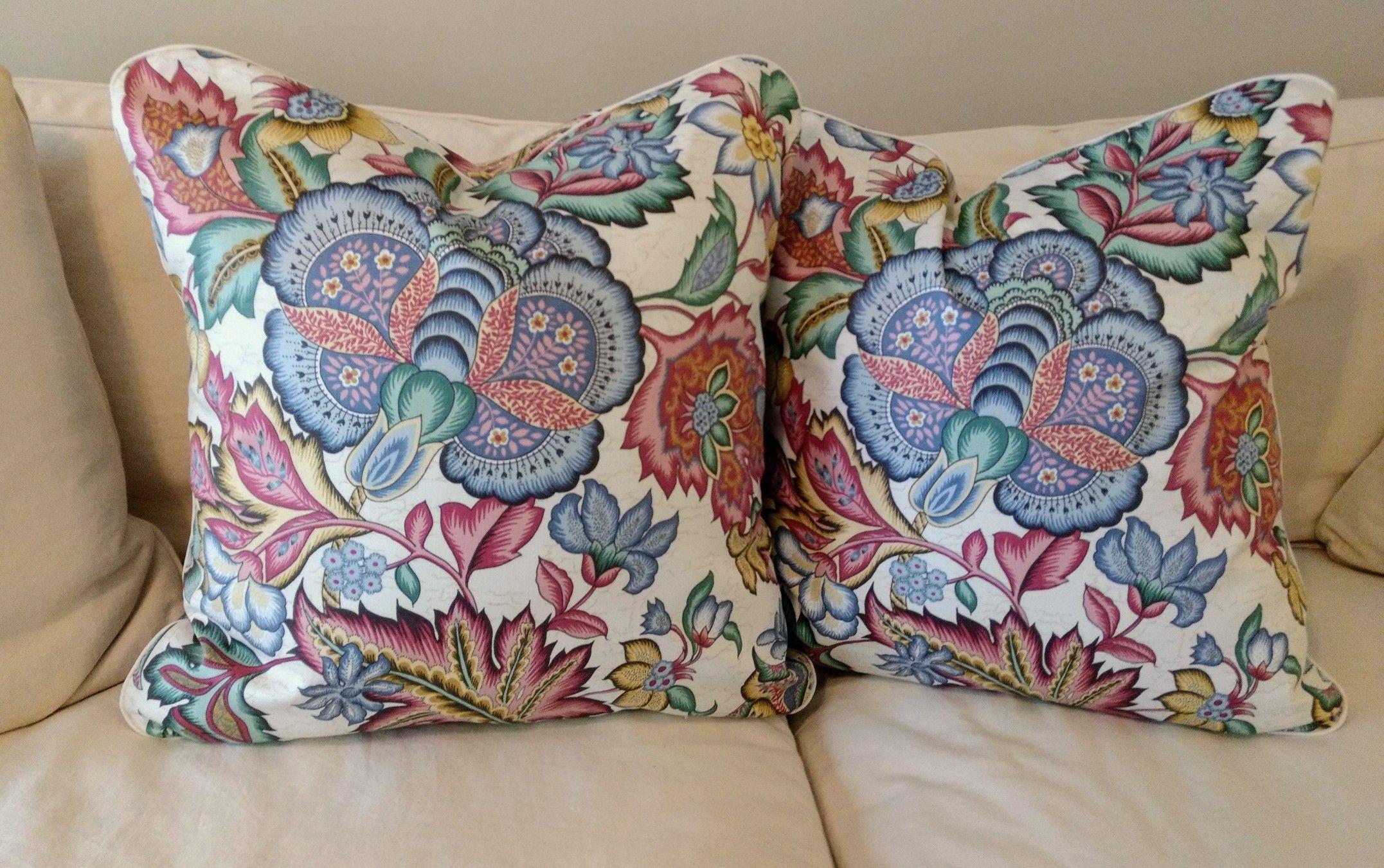 Waverly Pillows Pillows Waverly Fabric Decorative Pillows