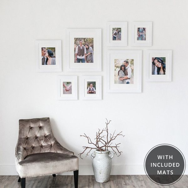 Buy These Frames In Various Colors U0026 Fill The Entire Living Room Wall! From  Design Pictures