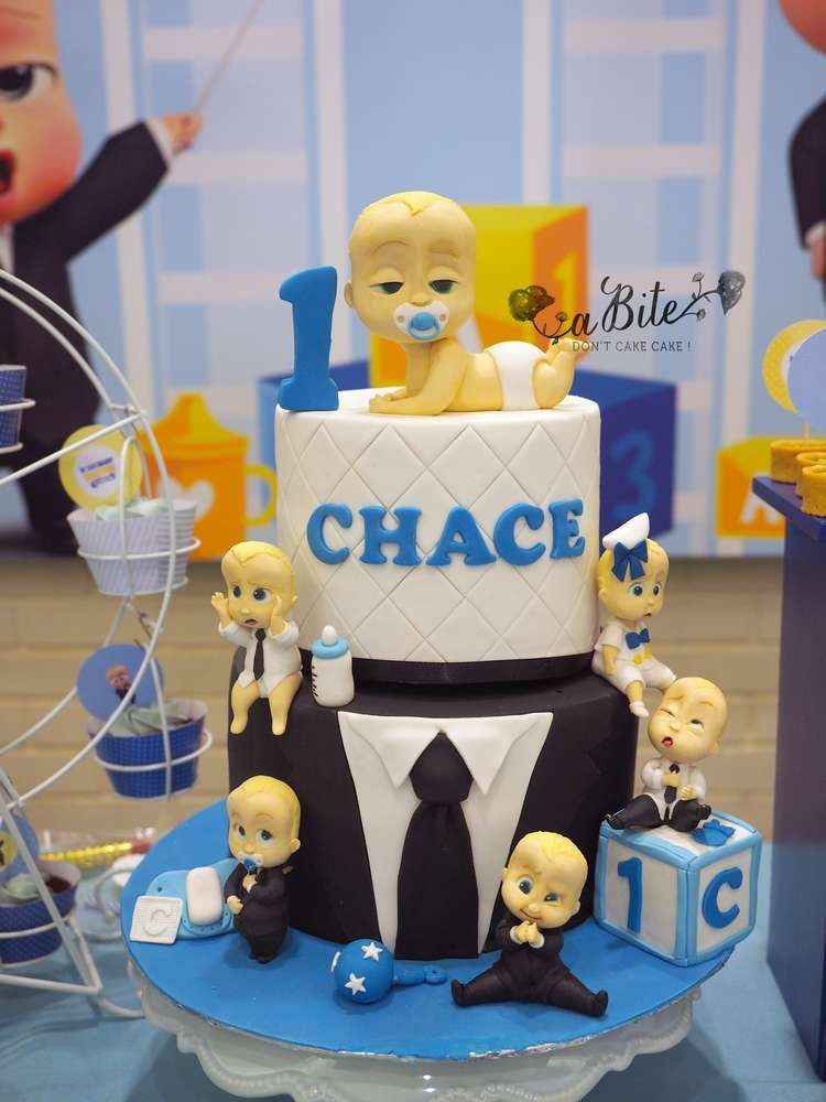 Boss Baby Birthday Party Ideas Photo 3 Of 9 In 2019 Boss