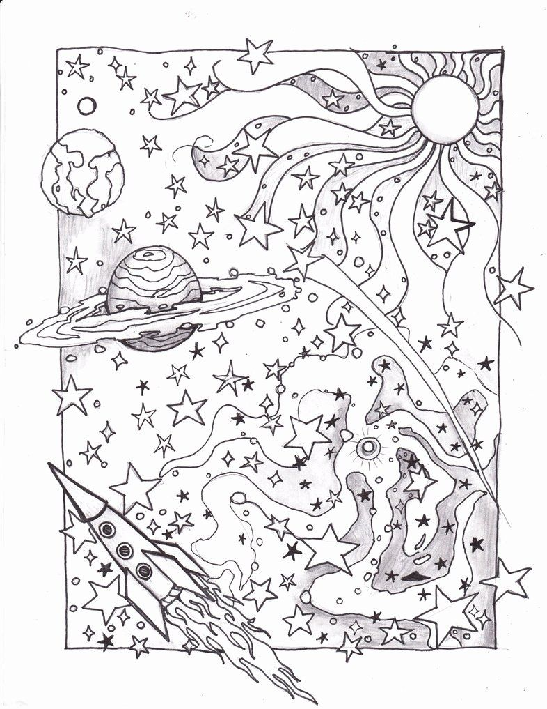 Coloring Pages Of Space In 2020 Space Coloring Pages Planet